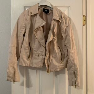 Leather (faux) jacket